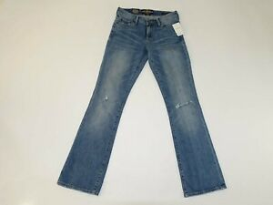 Lucky Brand Women's Sweet Boot Cut Jeans Size 0 / 25 Regular NWT Mid Rise 25R 0R