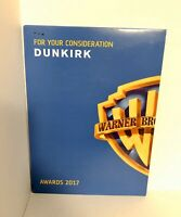 DUNKIRK DVD FOR YOUR CONSIDERATION (FYC) OSCARS 2017 AWARDS CHRISTOPHER NOLAN
