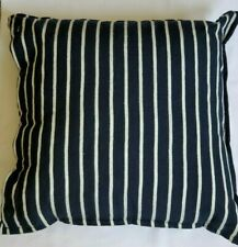 NEW RALPH LAUREN DURANT AIYANNA NAVY WHITE STRIPE 20 X 20 THROW  PILLOW