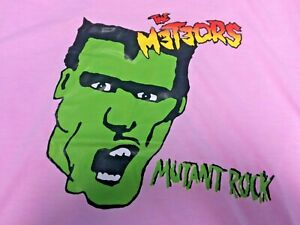 THE METEORS T SHIRT  PYSCHOBILLY ROCKABILLY  METEORS MERCHANDISE MUTANT ROCK