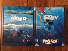Finding Nemo And Finding Dory (Blu Ray Lenticular Steelbook) Zavvi, Region Free