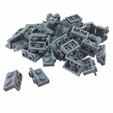 25 NEW LEGO Bracket 1 x 2 - 1 x 2 Inverted BRICKS Light Bluish Gray