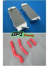 For Yamaha YZ426F YZF426 YZ450F YZF450 2001-2005 Aluminum Radiator & Hose