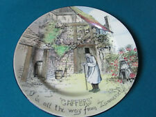 "Royal Doulton Antique Collector Plate Caffers 10 1/2"" D 4210"