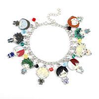 Anime My Hero Academia Chain Charm Bracelet Figure Alloy Pendent Fans Gift   @sh