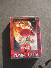 Coca Cola Nostalgia No.334 Sealed  Playing Cards 1997