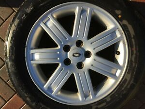 "LAND ROVER RANGE ROVER VOGUE L322 19"" ALLOY WHEEL RRC502640MNH 8Jx19 IS57 OEM #2"