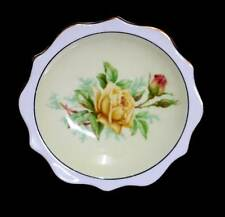 Vintage Royal Albert pretty yellow rose pin dish in lovely condition