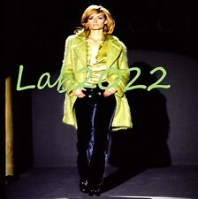 GUCCI Tom Ford Iconic Apple Green 1995 Coat That Amber Opened The Show