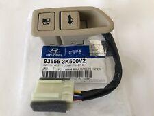 Sonata 2009-2010 Trunk Lid Switch Fuel Door Opener Release Button Beige Original