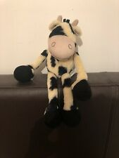Jellycat Plush Beanie Bottom I Am Chattering Cow With Long Arms And Legs