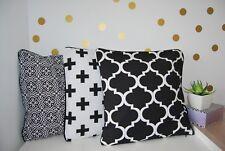 Pillow Case 16'  18' 20' Moroccan Lattice, Chevron  40x40/ 45x45/ 50x50cm