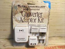 Converter Adapter Kit, Royal Traveller By Samsonite For Your Next Trip! New!