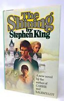 The Shining By Stephen King Doubleday Hardcover Edition Book With Dust Jacket