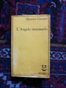 L Angelo Necessario Di Massimo Cacciari