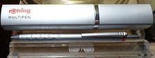 Rotring multipen, Trio-Pen, axtensi. 2 bolígrafo azul, rojo y lápiz 0,5