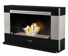 EU Standard Certified Fireplace -  VFC4000B heats 60m2 with 6.5 litre burner