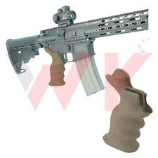 Tactical .223 5.56 Rifle Combat Sniper Pistol Grip Ambidextrous Ergonomic FDE