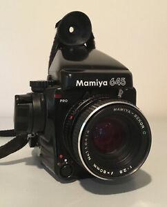Mamiya 645 Pro With 80mm F/2.8 Lens