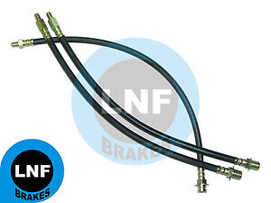 FORD F250 3/4 Ton 4X4 PICKUP TRUCK 4WD BRAKE HOSE FRONT REAR x3 65 1965