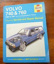 VOLVO 740 & 760 1982 to 1991 (up to J registration) Petro  Haynes Repair Manual