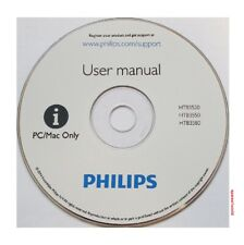 Philips Manual Guide for 5.1 3D Blu-ray Home theater HTB3520/3550/3580 Multilang