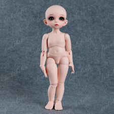 1/6 BJD SD Dolls Mini Pretty Girl Resin Bare Doll + Random Eyes + Face Makeup