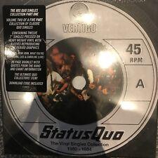 """Status Quo - The Vinyl Singles Collection 1980 - 1984 - 12 X 7"""" Vinyl Boxset New"""