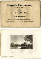 Meyer's Universum: IV. Bd., VIII. Lieferung. Mit 4 Stahlstichtafeln von 1837