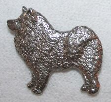 Samoyed Dog Harris Fine Pewter Pin Jewelry Art Usa Made