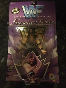 WWF Signature Series 1 Mankind mick foley 1997 Jakks Boxed
