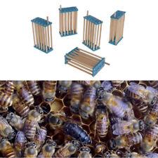 5Pcs Bee Queen King Cage Beekeeping Bamboo Multifunction Prisoner Hive Tools 3mm
