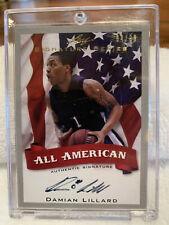 2012-13 Damian Lillard Leaf Signature Series Autograph Rookie Card 04/99