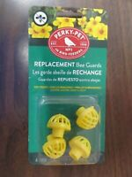 Perky Pet Yellow Bee Guards Hummingbird feeders #205Y NEW