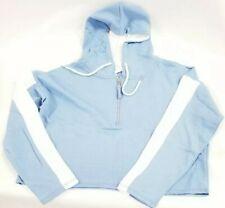 088de74a0 Pattern: Tie Dye. EXIST Women's Vista Blue Zip-Front Crop Hoodie LHP6503  Sz. Small MSRP$50 NEW