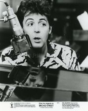 PAUL Mc CARTNEY GIVE MY REGARDS TO BROAD STREET 1984 VINTAGE PHOTO ORIGINAL #1