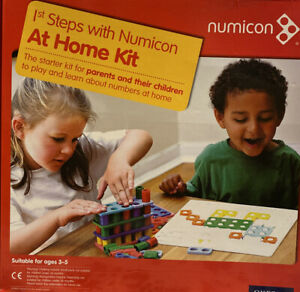 Numicon: 1st Steps with Numicon At Home Book/Bundle Kit (Numicon)