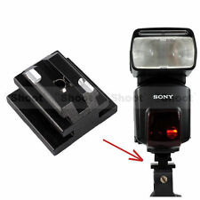 Metal Hot Shoe Mount Adapter for Minolta Sony AM Speedlight Flash Light Stand