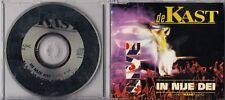 DE KAST In Nije Dei 4 TRACK LIVE CD MAXI sung in frision dutch nbr 1
