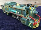Vintage SSS Inter JAPAN Mountain Locomotive Tinplate Friction Toy Train 50s 60s