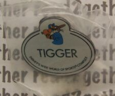 Disney Pin WDW Cast Member Name Tag Badge Tigger Wide World of Sports Complex