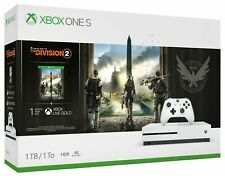Microsoft Xbox One S 1TB Tom Clancy's The Division 2 Console Bundle - White