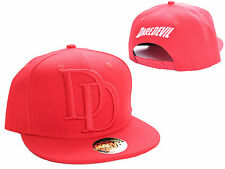 MARVEL COMICS DAREDEVIL SYMBOL RED SYMBOL SNAPBACK CAP HAT (BRAND NEW)
