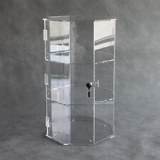 Octagonal Acrylic  Showcase / Perspex Cabinet / Storage Box / Display Case