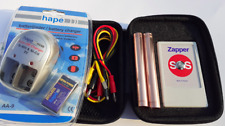 The most effective !!!  Hulda Clark Zapper with patented electrodes  SILVER 935