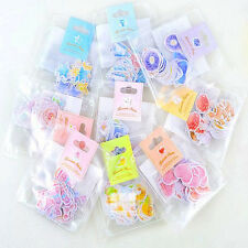 70PCS/Set Diary Sticker Mini Paper Sticker Tag DIY Album Scrapbooking Decoration