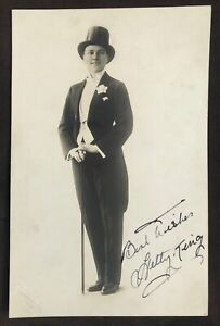 Hetty King - Male Impersonator c.1920's Signed Photograph