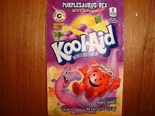 10 *RARE* Kool Aid Drink Mix PURPLESAURUS REX Vit C popsicle flavor summer time