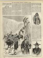 1891 Crossing The Mountains Between The Yarkand And Little Tibet