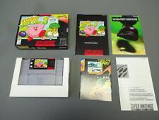Kirby's Dream Land Super Nintendo SNES 1997 Complete In Box CIB